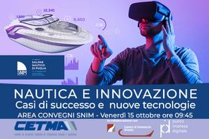 """Convegno """"Nautica e innovazione   casi di successo  e nuove tecnologie"""""""